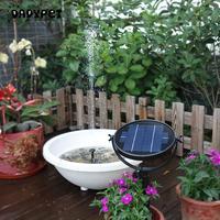 Brushless Solar Water Pump Kit 9V 3W 2W Solar Panel Solar Powered Fountain Submersible for Bird Bath Pond Pull Garden