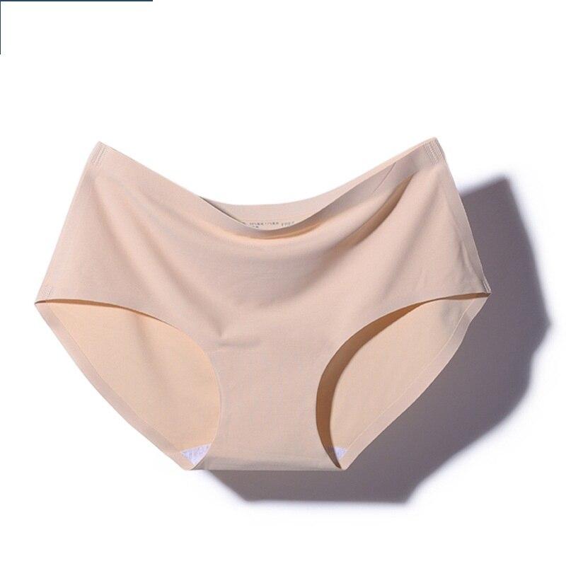 Women 39 s panties Seamless thong Low waist solid briefs pants ice silk underwear in women 39 s panties from Underwear amp Sleepwears