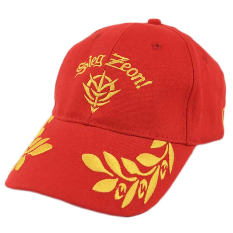 Anime Mobile Suit Hat is net zo hoog als Baseballcap geborduurde hoed - Carnavalskostuums
