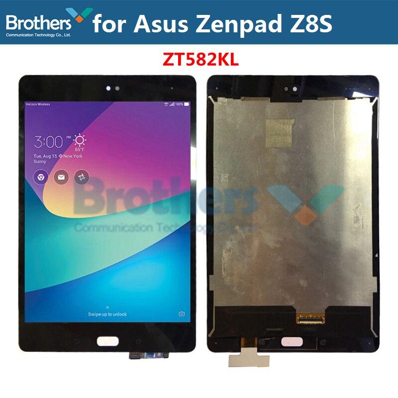 ЖК-экран 7,9 ''для Asus ZenPad Z8S ZT582KL, ЖК-экран для ASUS ZT582KL, экран в сборе, оригинальная замена, тест на работу