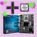 Бренд X58 Материнская плата с ЦП RAM HUANAN ZHI X58 Pro LGA1366 материнская плата комплект ЦП Intel Xeon E5640 2 66 GHz RAM 16G (2*8G) RECC