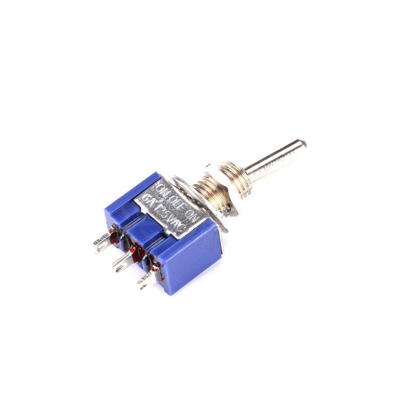 5 PC x AC 10A // 250V 15A // 125V 3 Pin SPDT ON-OFF-ON 3 Position Boot Wi B GL 10X