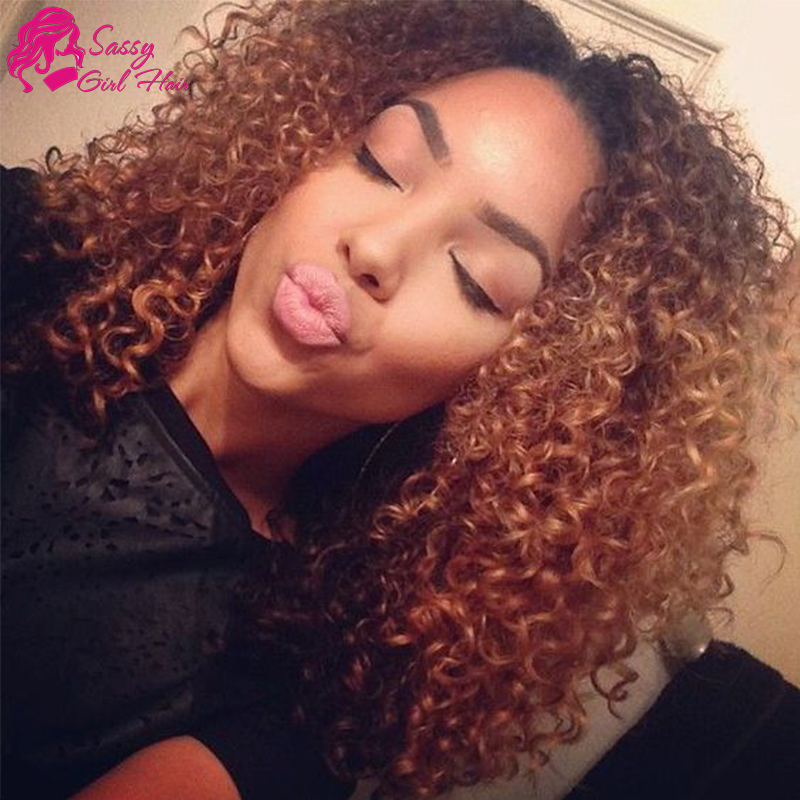 7a Malaysian Curly Hair 4 Bundles Afro Kinky Curly Weave