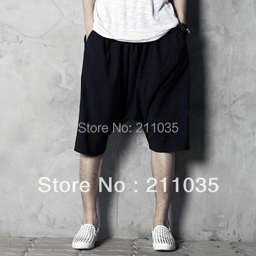 Hot Sale Rememberclick roupas masculinas calças calças pendurados calças virilha plus size disponíveis calças masculino plus size sólida QC