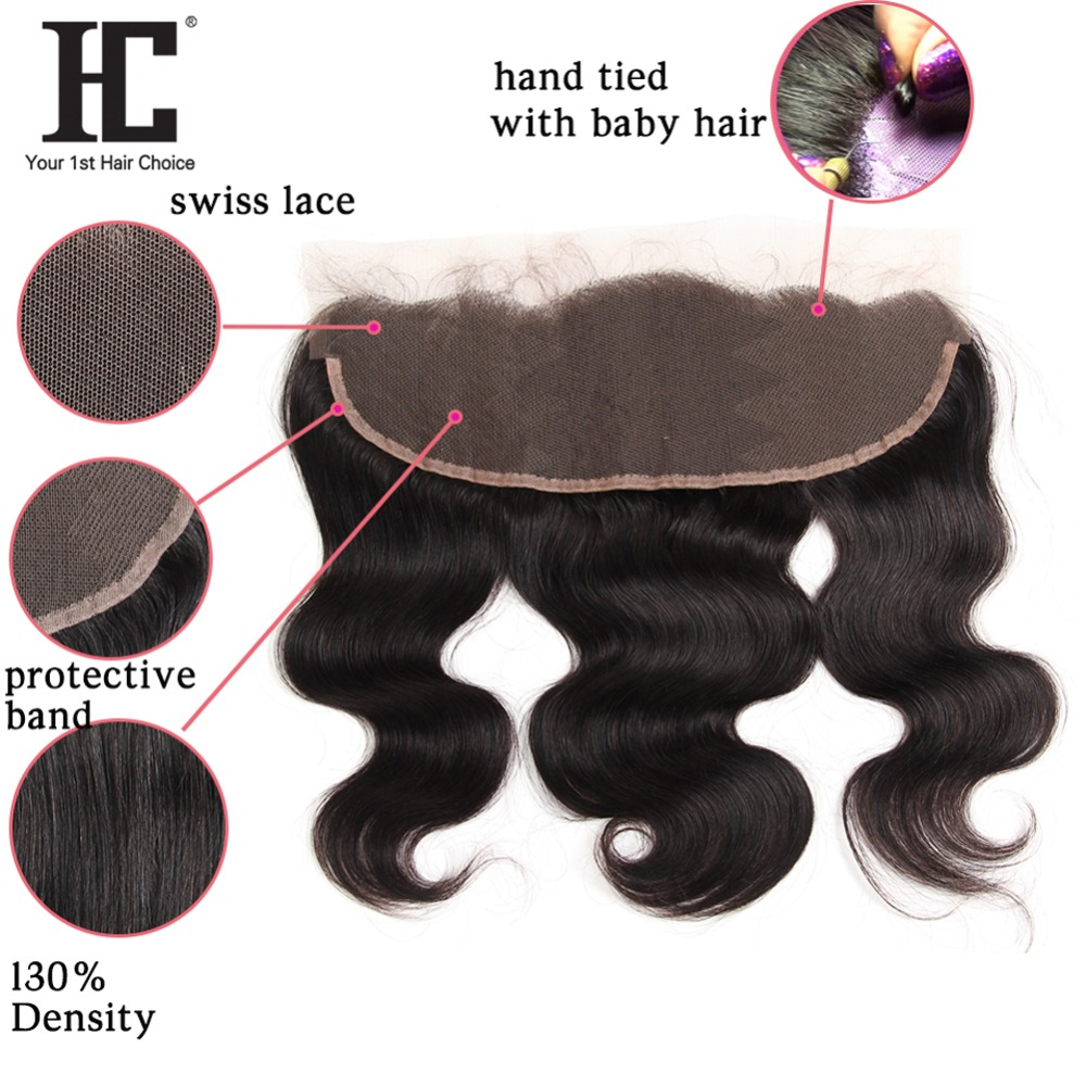 HTB1YVureYZnBKNjSZFKq6AGOVXaS HC Brazilian Body Wave With Frontal Ear To Ear Lace Frontal Closure With Bundles Non Remy Human Hair Weave 3 Bundle With Frontal