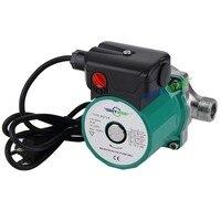 220 240V Stainless Steel Circulator Pump NPT 3/4'' Household Hot Water Circulation Pump with European Plug
