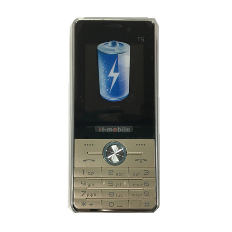 H Mobile T5 Phone with Dual SIM Card Bluetooth Flashlight MP3 MP4 FM Camera2 8 inch
