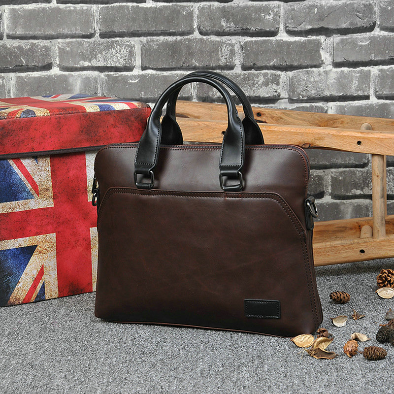 New Design PU Leather Briefcase for Men 5