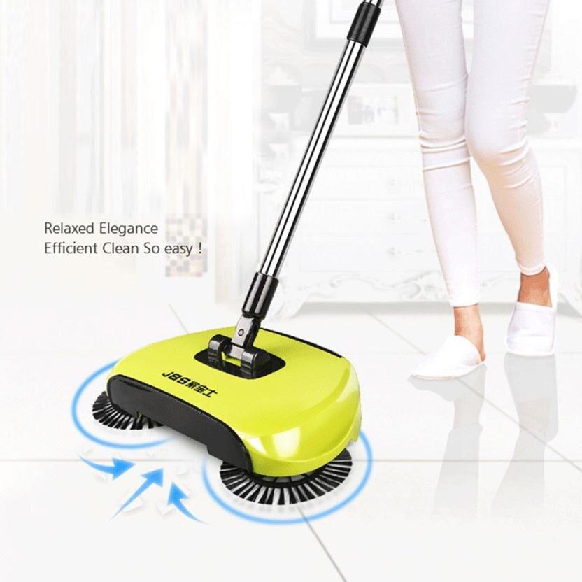 Ho Применение приборка веники и Duspans Sweeper Новое поступление 360 Поворотный дома Применение Магия руководство пол пыли Sweeper
