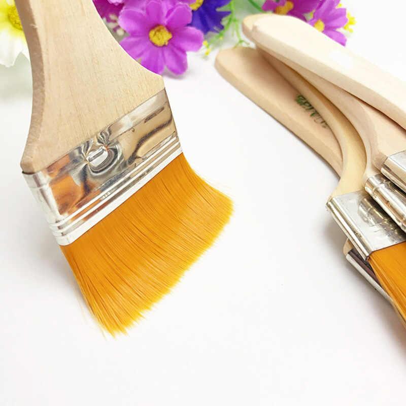 12 unids/set pelo de nailon Multi tamaño pinceles de pintura de aceite acuarela de propileno cepillo de acrílico para niños DTT88