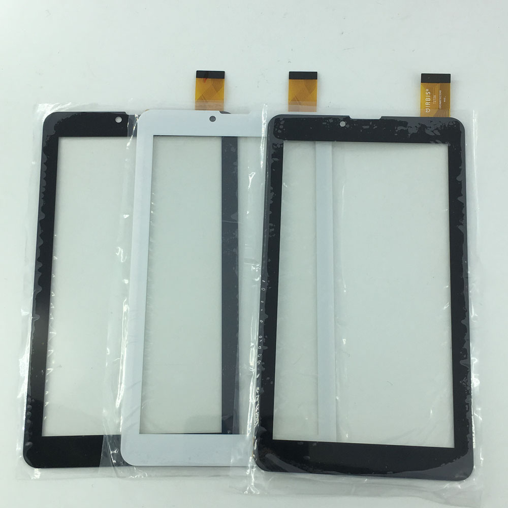 New 7 QCY70Tablet PC Capacitive Touch screen digitizer panel Glass Sensor Replacement parts For 7 Irbis TZ709 3G Irbis 725 new touch screen digitizer for 7 irbis tz49 3g irbis tz42 3g tablet capacitive panel glass sensor replacement free shipping
