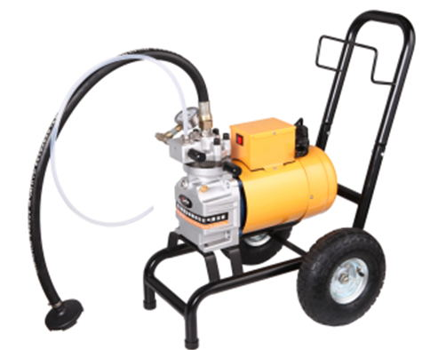 Professional Airless Paint Sprayer Electric Machine with spray gun 517/519 Nozzle Tips 15m high pressure hose painting equipment professional piston airless portable power airless electric paint sprayer with spray gun painting machine f4500