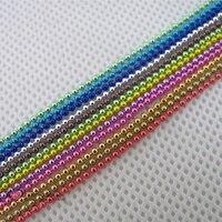 Fashion 12 Colors 3d Acrylic Nail Art Caviar Ball Beads Chain Glitter Metallic Decorations Drop Shipping
