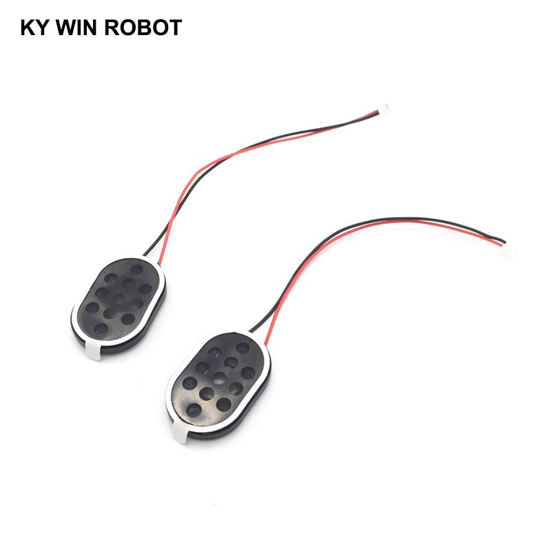 Image 3 - 2pcs New Electronic dog GPS navigation speaker plate 8R 1W 8ohm 1W 2030 20*30*4mm with 1.25mm terminal wire length 10CM-in Acoustic Components from Electronic Components & Supplies