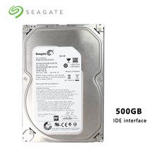 "Seagate marca 500 GB Escritorio PC 3,5 ""mecánico interno Disco Duro interfaz IDE HDD 500 GB 7200 RPM 16 búfer MB (SEAGATE500GB)(China)"