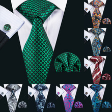 hot deal buy men tie paisley 100% silk necktie gravata neckwear barry.wang fashion set ties for men formal wedding party business us-1608