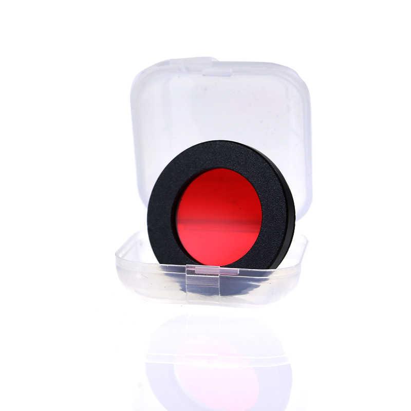 """천문 망원경 용 1.25 """"astro red colorfilters oculars 렌즈 행성 성운 필터 m28x0.6 미터 미세 나사"""
