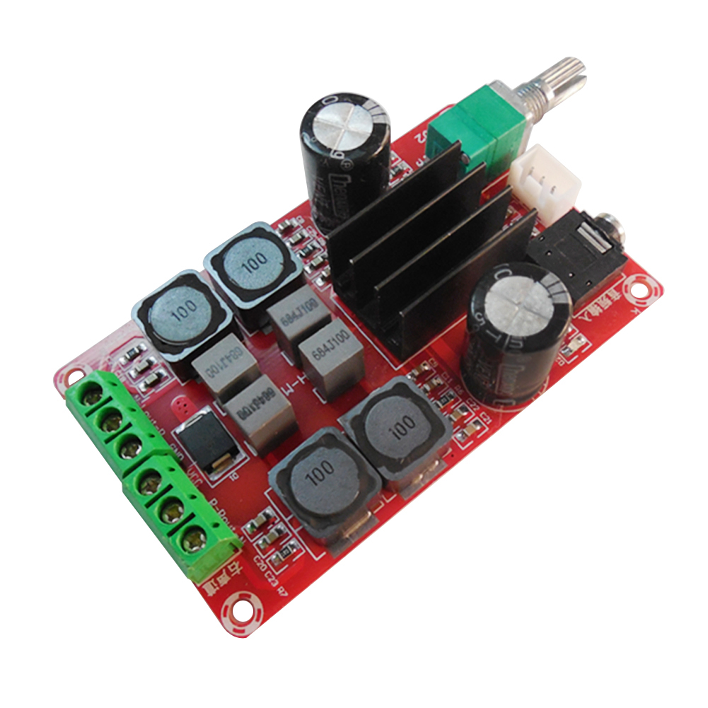 DC 5-24V Digital Amplifier Board Class D Dual Channel Stereo 2*50W Volume Control With Potentionmeter Switch ed tittel xml for dummies