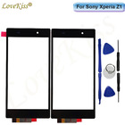 Z1 Touchscreen Front Panel For Sony Xperia Z1 L39H C6902 C6903 C6943 Touch Screen Sensor LCD Display Digitizer Glass Replacement