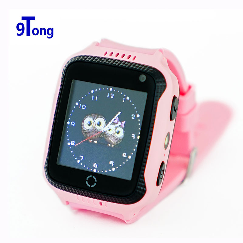 9Tong Children GPS Watch Phone with Camera Flashlight 1 44 Inch OLED Touch Screen Locator Device