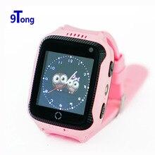 Q528 GPS телефон позиционирования Мода Дети часы 1.44 дюймов OLED Сенсорный экран sos-вызов устройства дети Безопасный анти-потерянный Мониторы # b0