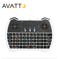 AVATTO I8V Mini Keyboard 2 4Ghz Wireless Touchpad Handheld Gaming Air Mouse For Smart TV