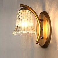 Американский Полный зеркало Ванная комната Спальня настенный светильник светодиодный прикроватная фар один объектив комната коридор наст...
