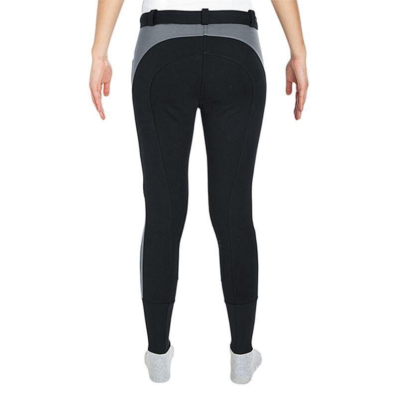 Women Horse Riding Pants Equestrian Breeches Sports Legging Ladies Knee Patch Jodphurs Riding Pant