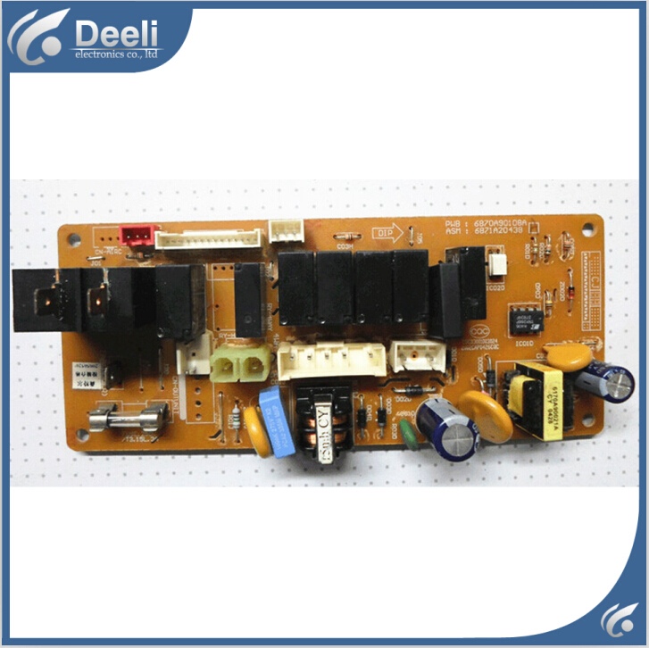 95% new good working for air conditioning Computer board 6870A90108A 6871A20299 pc board control board on sale 95% new for samsung refrigerator pc board computer board rs19 da41 00401c a board good working