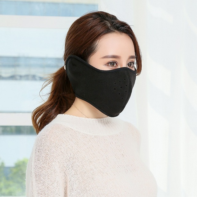 Bike Half Face Mask Cover Face Hood Protection Ski Cycling Sports Outdoor Winter Neck Guard Scarf Warm Mask balaclava snowboard