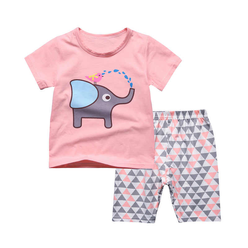 7a781d03ea52 Detail Feedback Questions about Baby kids Pajamas Set summer ...