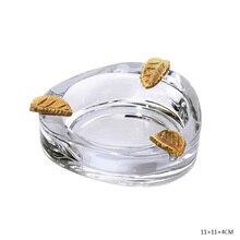 CIGARLOONG cigar ashtray European bronze Austrian crystal CE-4306