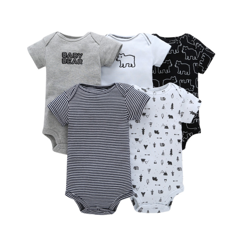 Newborn Bodysuits Baby Girl Clothes Short Sleeve Cotton Bebe Romper Baby Boys Clothes Infant Outfits Onesie New Born Jumpsuits