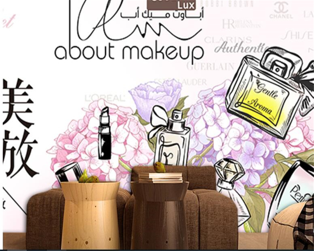 Best Cartoon Makeup Wallpaper - beibehang-wall-paper-Personality-silk-cloth-wallpaper-such-as-the-United-States-blooming-makeup-beauty-background  Best Photo Reference_518343.jpg