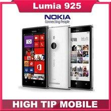 Free gift!Original Nokia Lumia 925 Dual Core 16GB 8.7MP Camera 4.5inch Touch Screen Microsoft Refurbished Windows 8 Smart Phone