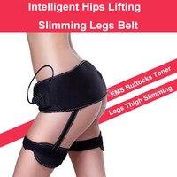Female EMS Buttocks Toner Bottom Muscle Stimulator Intelligent Firm Hip Leg Waist Lifting Thigh Slimming Belt Relax Rechargeable
