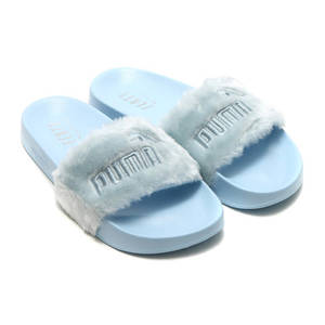 PUMA X Rihanna Fenty Leadcat Fur Slide Unisex Men s Women s Badminton Shoes aa855c76e