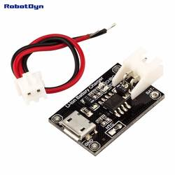TP4056 MicroUSB 18650 литий-ионный Батарея Зарядное устройство. 1A. С разъемом питания и кабелем, стандартными и защитными версиями