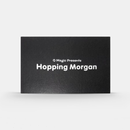 Прыжковой Morgan по Q Магия трюк монеты с расширенные монеты оболочки и английский пенни фокусы закрыть иллюзии весело magia игрушки