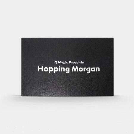 Saltando Morgan por Q magia truco de las monedas con ampliado de monedas y penique inglés trucos de magia de cerca ilusiones divertido magia Juguetes