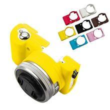 Топ Мягкий силиконовый резиновый чехол для камеры сумка защитный чехол для sony Alpha A5100 A5000 Новинка
