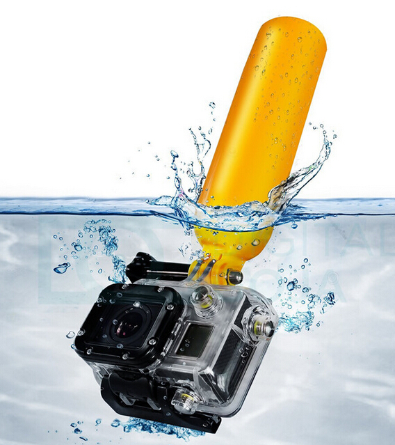 SJ4000 Accessories Durable Floaty Bobber Stick With Strap and Screw For Gopro Hero 5 4 Xiaomi Yi Cam SJCAM EKEN H9 Action Camera