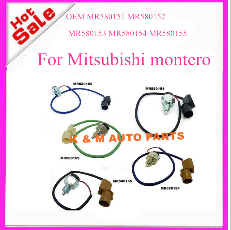 set of 5PCs OEM MR580151 MR580152 MR580153 MR580154 MR580155 transfer case Switch For Mitsubishi montero pajero . K-M