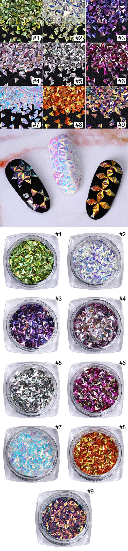 Дино АБ цвет ногтей блёстки хамелеон truly звезда переливающийся flakies советы маникюр 3D для ногтей дизайн украшения