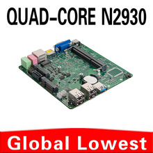 2015 New Celeron quad core N2930 mini motherboard N2930 mainboard industrial mini itx with 1*HDMI,5*USB for 1 lan port