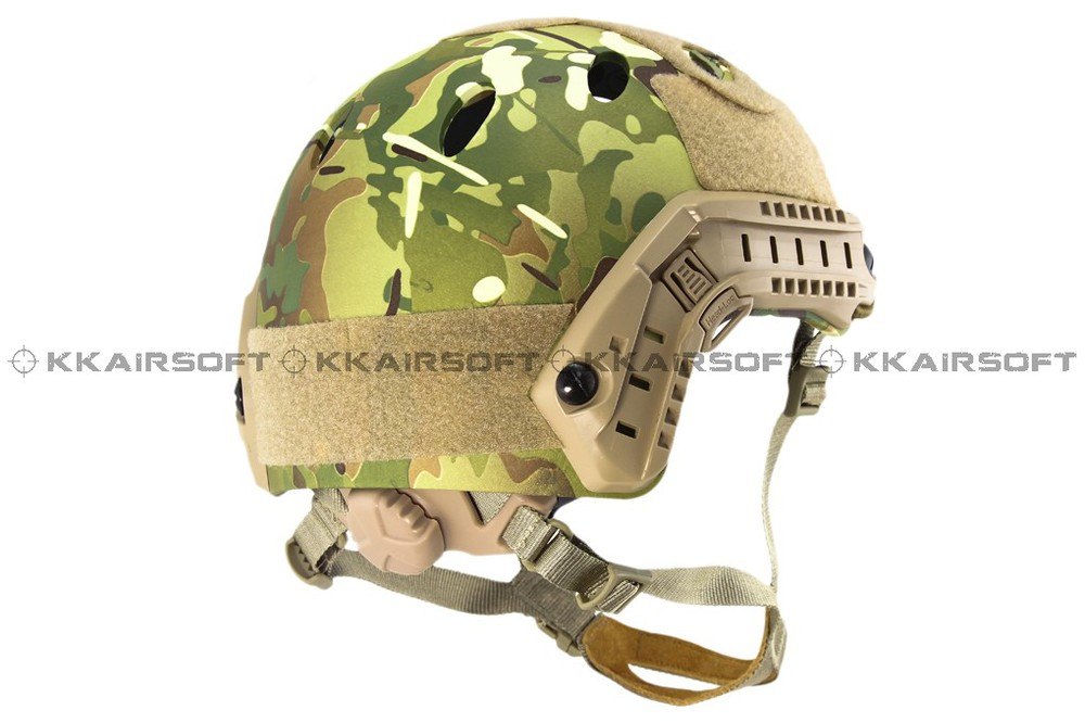 Base Jump Fast Helmet ABS Shell (Multicam)