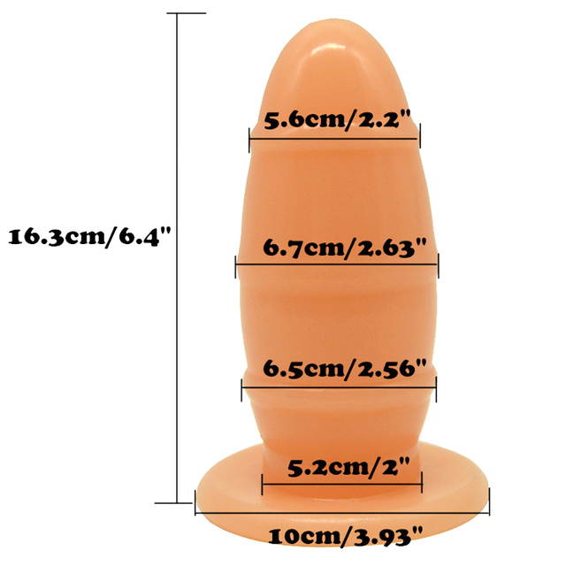 FAAK Rugby Sex Anal Plug dildo big dildo Woman Adult Massage Fetish Sex Toy for Gay Round Head insert Comfortable dildos 4