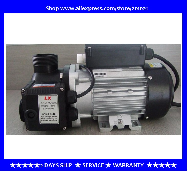 LX Spa Heater Pump- 1.0HP with 1.5kw heater,Suitable for use in a spa with own independant temperature control pad spa hot tub bath pump blower air switch for china lx pump air switch