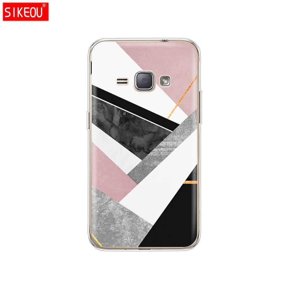 Ốp Lưng silicon dành cho Samsung Galaxy Samsung Galaxy J1 2016 J120 J120F SM-J120F Ốp lưng Mềm TPU bao bọc điện thoại bảo vệ in coque Ốp lưng