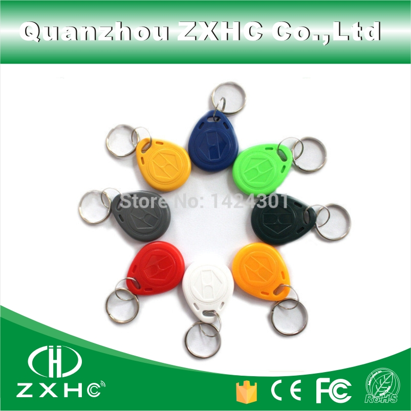 (10pcs) RFID EM4305 125KHz RFID Tag Replicable Waterproof RFID Cards Keyfobs Keychain Key Finder Access Control Cards For Copy rfid transponders